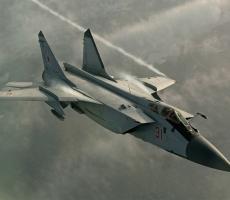 Разведсамолет США был перехвачен российским МиГ-31