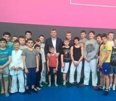 Алексей Малый поднял боевой дух юных бойцов Солнечногорска