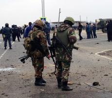 На КПП в Грозном напали террористы