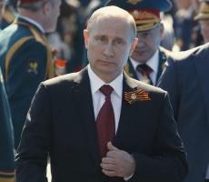 Путин поздравил россиян с Днем Победы!