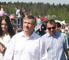Алексей Малый отмечал День Победы с жителями Истринского района