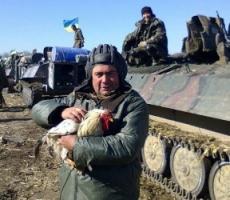 Украинские солдаты стреляют сами в себя