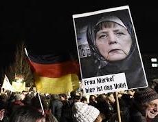 В Германии нарастает жесткое противостояние правых и левых радикалов