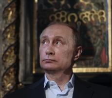 Путин посетил святую гору Афон