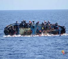 В Средиземном море утонуло 700 мигрантов
