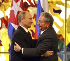 Путин поздравил Рауля Кастро с днем рождения