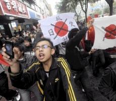 Жители Японии протестуют против военных США