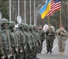 На Украине собрались войска 13 стран мира