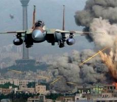 Российские бомбардировщики атакуют боевиков ИГИЛ