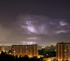 На Москву обрушился разрушительный ураган