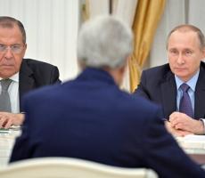 Керри и Путин обсудили необходимость ужесточить борьбу с боевиками