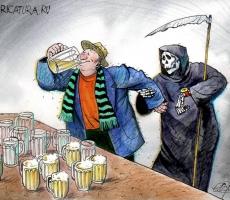 Алкоголь как причина семи видов рака