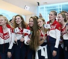 Сборную России провели на Олимпиаду в Рио