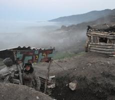 Азербайджан обстреливает НКР