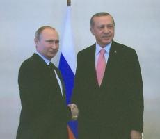 Знаменательная встреча Путина и Эрдогана стартовала