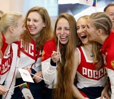 Россия уверенно вышла на пятое место в Олимпиаде