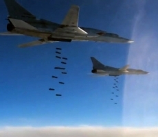 Российские бомбардировщики разбомбили крупную базу ИГИЛ