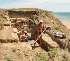 В Крыму откопали греческую крепость античных времен