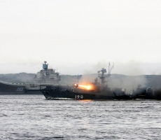 Корабли Северного флота России отбили воздушную атаку противника