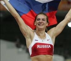 Исинбаева открыла российской легкой атлетике второе дыхание