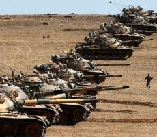 Турецкие солдаты вошли в Сирию