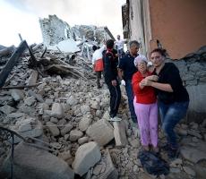 Италию снова сотрясает стихия