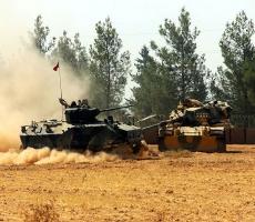 В Сирию вошло свежее подразделение турецких танков