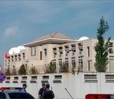 На китайское посольство в столице Киргизии совершено нападение