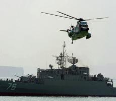 Корабли ВМС Ирана прогнали американский корабль