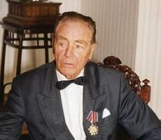 Барон Эдуард фон Фальц-Фейн отметил сто четвертый день рождения