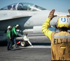 Коалиция во главе с США совершила авианалет на правительственные войска Сирии