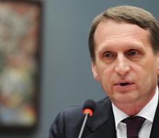 Нарышкин был назначен главой Службы внешней разведки