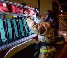 В Москве шесть спасателей погибло при пожаре