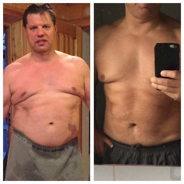 как я похудел на 40 кг