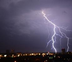 Москва под ударом стихии