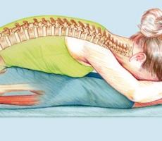 Йогатерапия спасет позвоночник