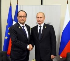 Встреча Олланда и Путина состоится в ближайшее время