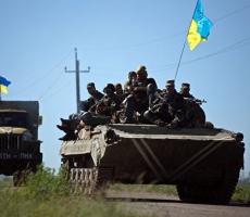 На юге Донбасса развязался полномасштабный бой