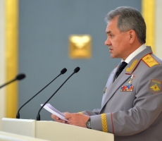 Шойгу пообещал улучшить российскую военную технику
