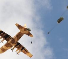Солдаты России и Египта совместно десантировались в пустыне