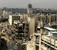 Исламисты обстреляли Алеппо химическими снарядами