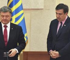 Порошенко примет отставку Саакашвили