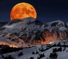 В понедельник на землян обрушится сильное влияние луны