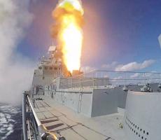 Сирийские боевики были атакованы российским фрегатом