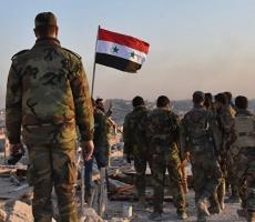 Сирийская армия отбила у боевиков город Телль