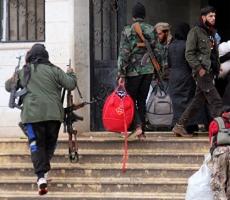 Несколько тысяч боевиков капитулировали в пригороде Дамаска
