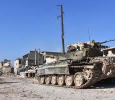 Террористы бежали из исторического центра Алеппо