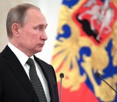Президент наградил орденами погибших и раненых российских военных