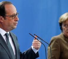 Меркель и Олланд решили продлить санкции против России