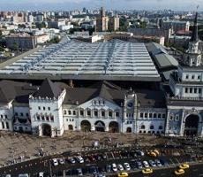В Москве произошла массовая эвакуация людей с трех вокзалов